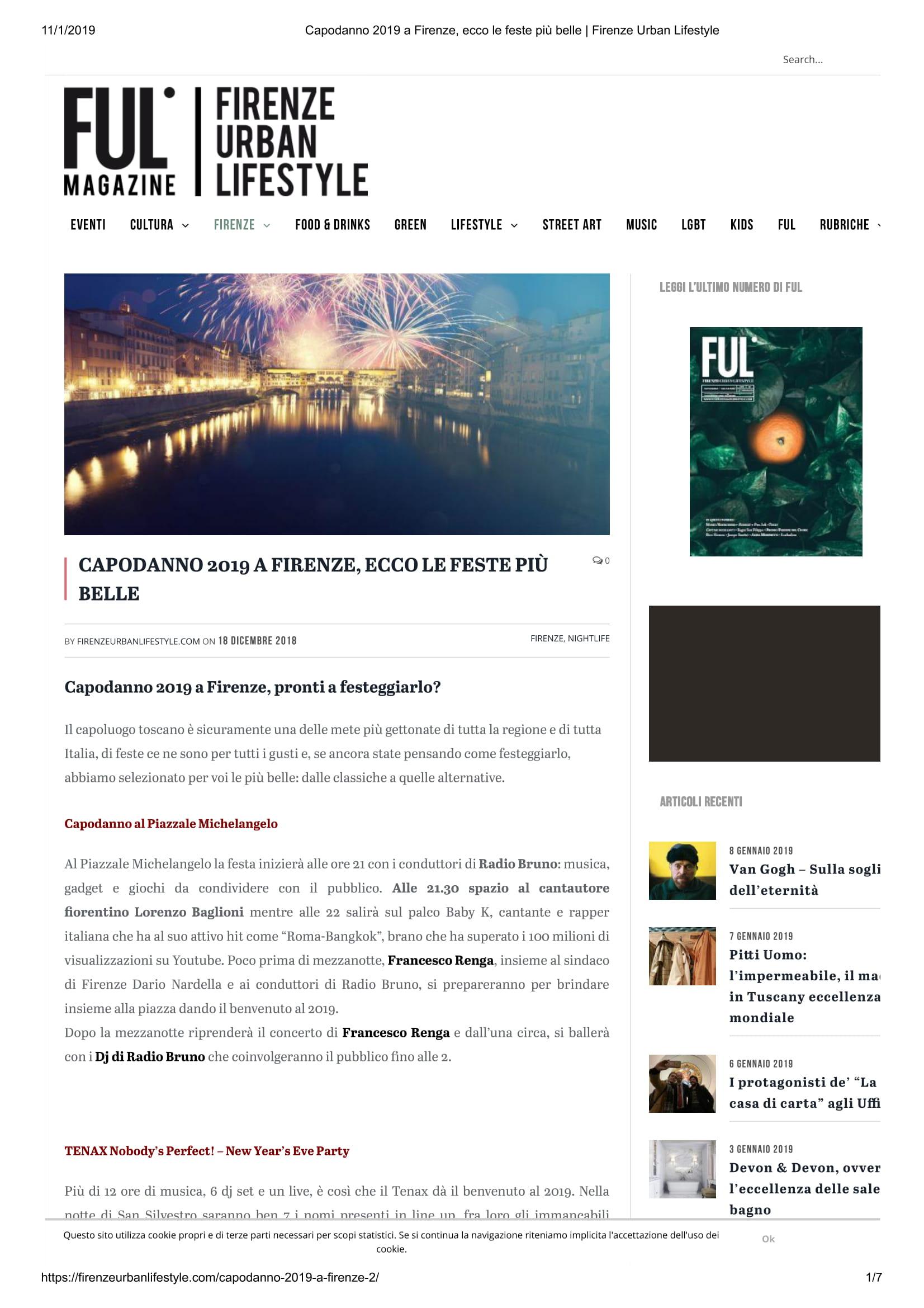 Capodanno 2019 a Firenze, ecco le feste più belle _ Firenze Urban Lifestyle-1