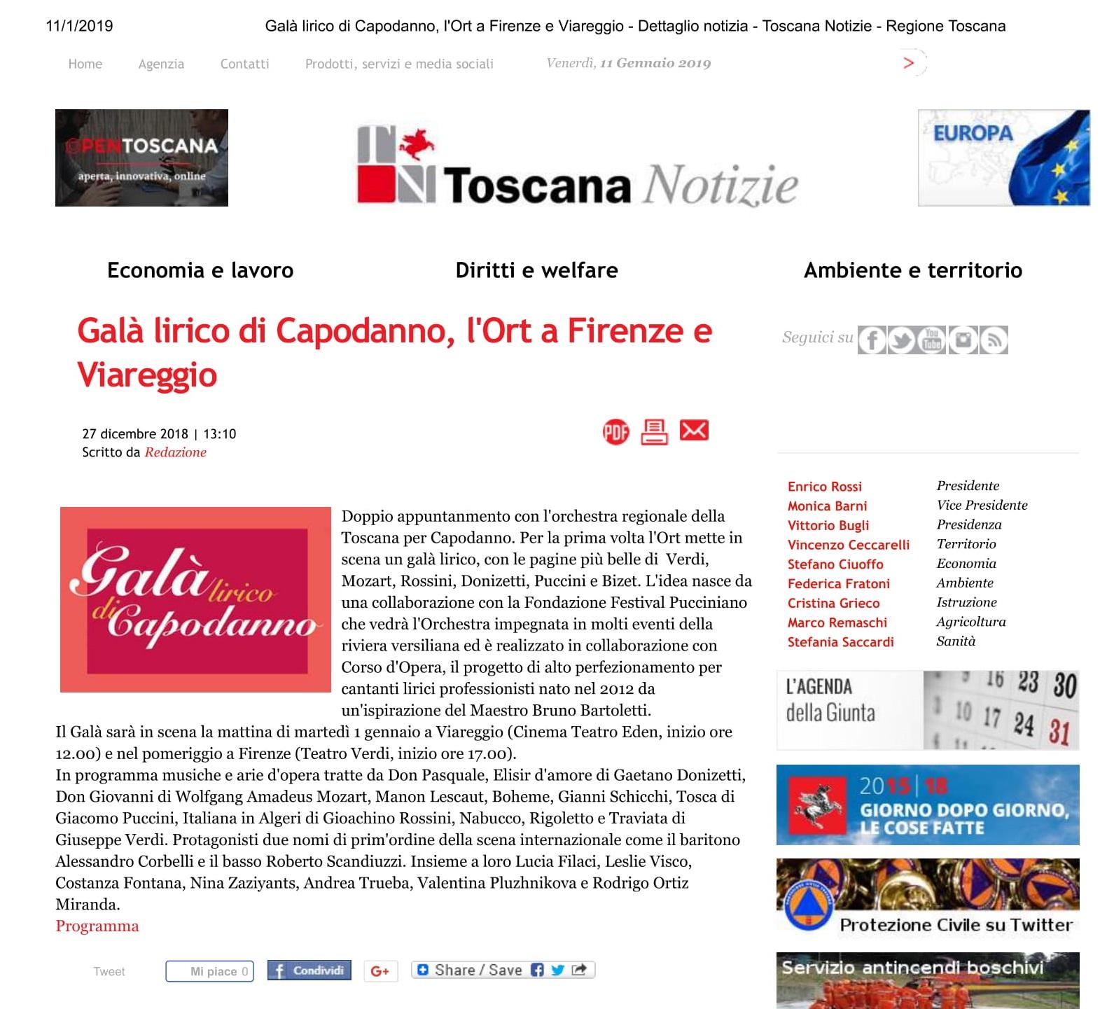 Galà lirico di Capodanno- Toscana Notizie - Regione Toscana-1
