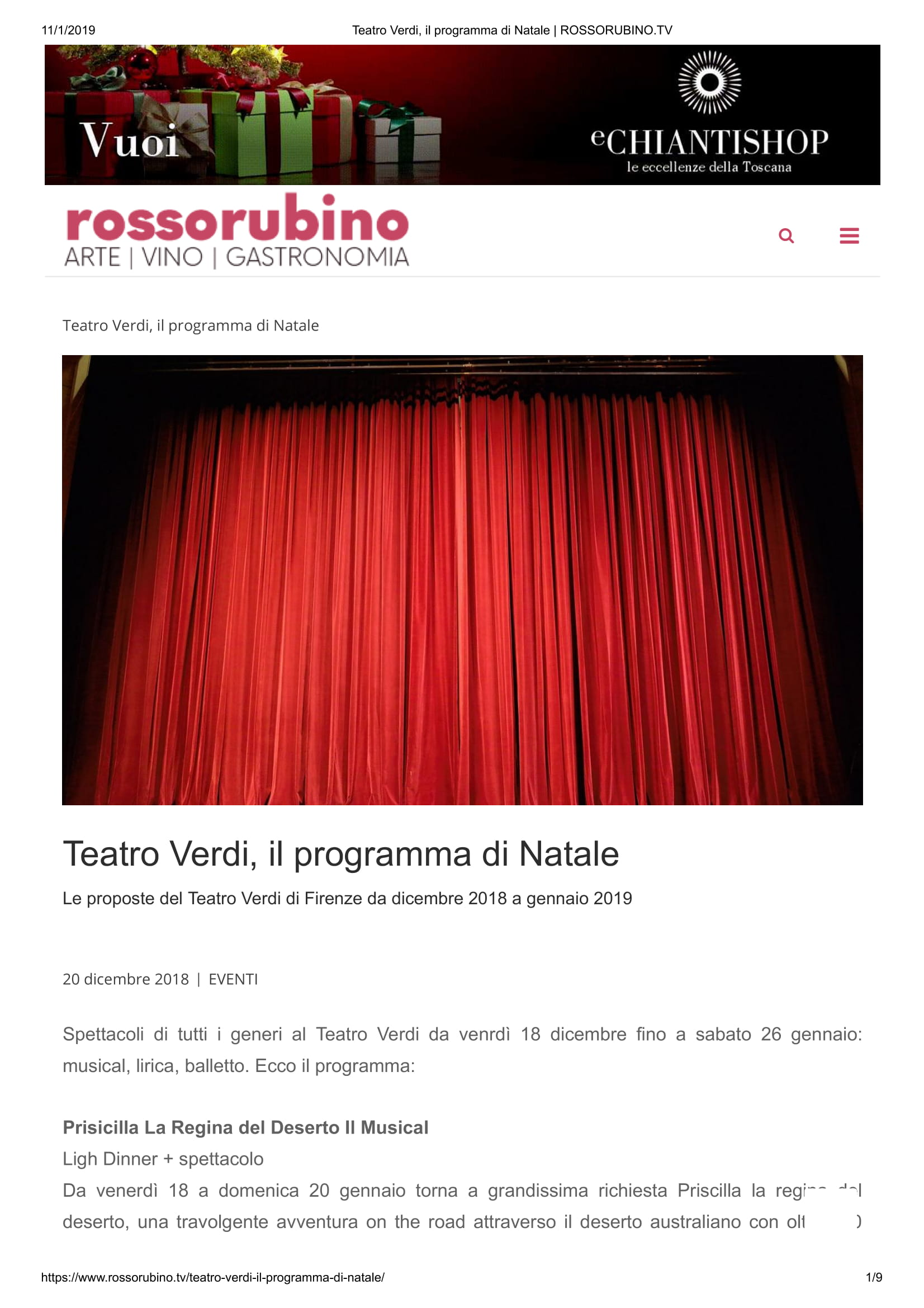 Teatro Verdi, il programma di Natale _ ROSSORUBINO.TV-1