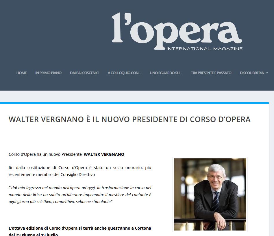 Screenshot_2020-03-09 WALTER VERGNANO è il nuovo Presidente di Corso d'Opera - l'opera international magazine