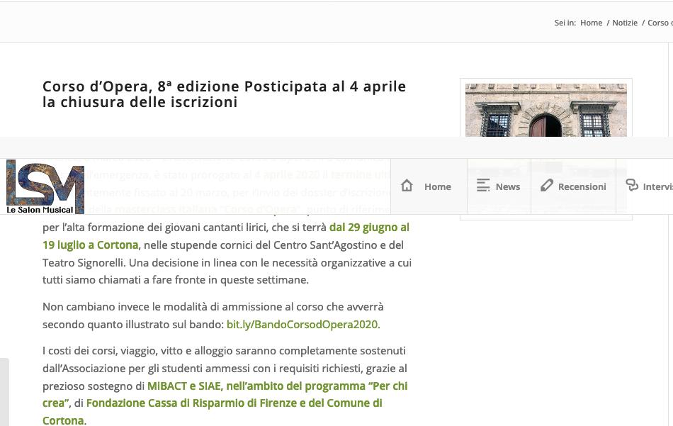 Screenshot_2020-03-13 Corso d'Opera, 8ª edizione Posticipata al 4 aprile la chiusura delle iscrizioni • Le Salon Musical