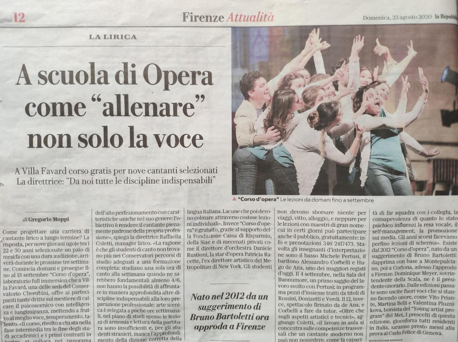 La Repubblica 23 agosto